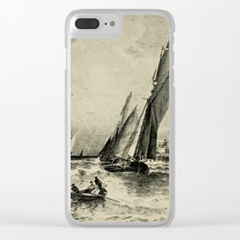 Lucas Albert Reed - Astronomy and the Bible (1919) - The Motion of Air Clear iPhone Case