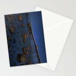 Dusk at Llandudno Pier Stationery Cards