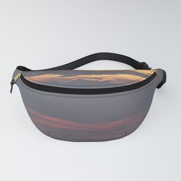 Cloud covered Sea Fanny Pack