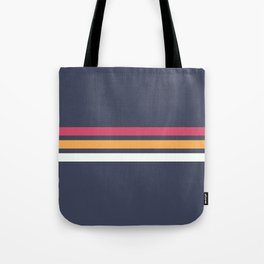 Classic Retro Stripes 2 Tote Bag