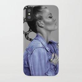 + Blue Jeans + iPhone Case