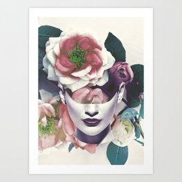 inner garden 2a Art Print