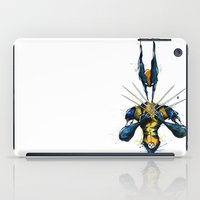 x men iPad Cases featuring X-Men by Nicola Girello