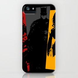 Justice League colors iPhone Case