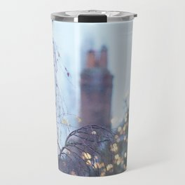 Christmas Lights in Marlow Travel Mug