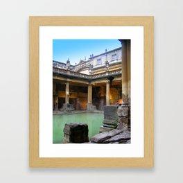 Approaching the Baths Framed Art Print