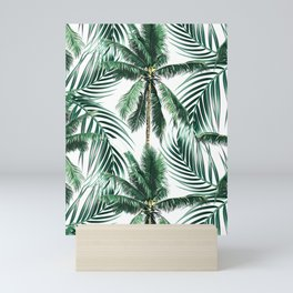 South Pacific palms Mini Art Print