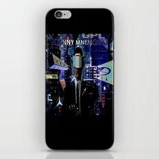 JOHNNY MNEMONIC iPhone & iPod Skin