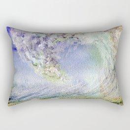 Fury Tsunami by Maureen Donovan Rectangular Pillow