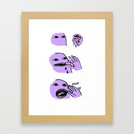 Finger Food Framed Art Print
