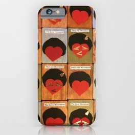 LoVe Cards iPhone Case