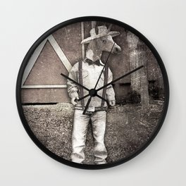 Cousin Unicorn Wall Clock