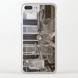 """""""Christian the submissive"""" Fifty Shades Darker Clear iPhone Case"""