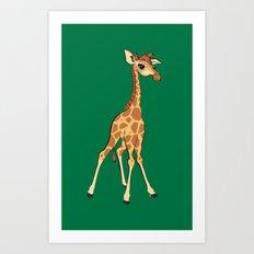 You're Having A Giraffe! Art Print