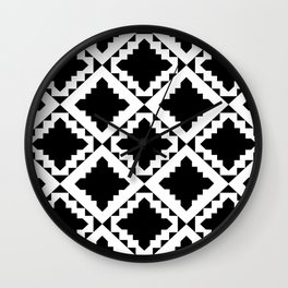 Modern Black Wall Clock