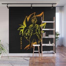 Super Goku Wall Mural