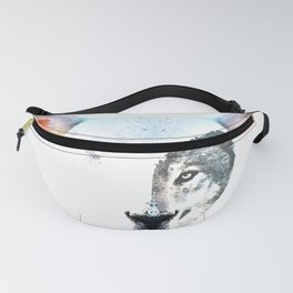 A Wolf In Sheep's Clothing by Sharon Cummings Fanny Pack