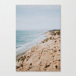 California Coast / Gliderport, Encinitas Canvas Print