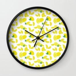 Lemoncello Wall Clock