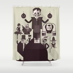 dark man fan art Shower Curtain