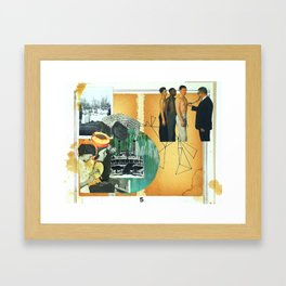 rot and wither Framed Art Print