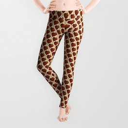 Ice Cream Pattern - Heart Leggings