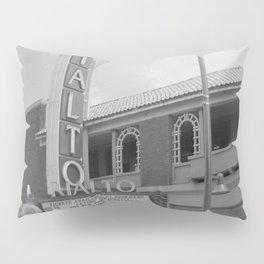 Vintage Neon Sign - The Rialto Theater - Tucson Arizona Pillow Sham