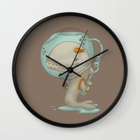 evolution Wall Clocks featuring Evolution by Lili Batista