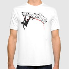 the Climber MEDIUM Mens Fitted Tee White