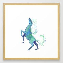 Water Horse Framed Art Print