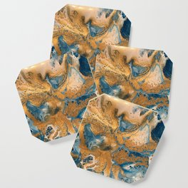 Cosmic Fluid Art 1 Coaster