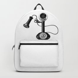 Old telephone Backpack
