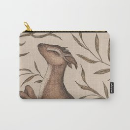 The Goat and Willow Carry-All Pouch