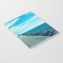 Into the blue Notebook