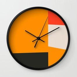 Mid Century Minimal 2 Wall Clock