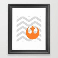 Star Wars Rebel Alliance Chevrons Framed Art Print
