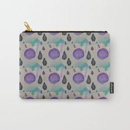 Watercolor purple sun Carry-All Pouch