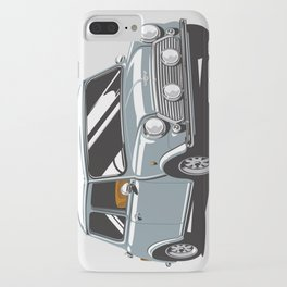 Mini Cooper Car - Gray iPhone Case
