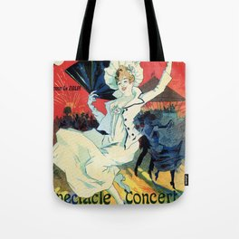 1890 Jardin De Paris Night Party Tote Bag