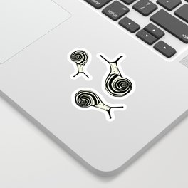 Snails Sticker