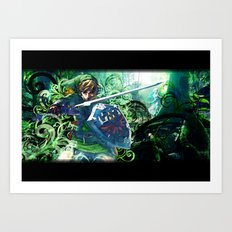 The Lost Woods Art Print