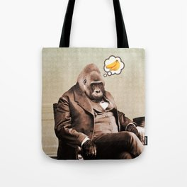 Gorilla My Dreams Tote Bag