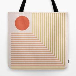 Lines & Circle 02 Tote Bag