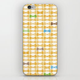 butterfly tie +yellow iPhone Skin