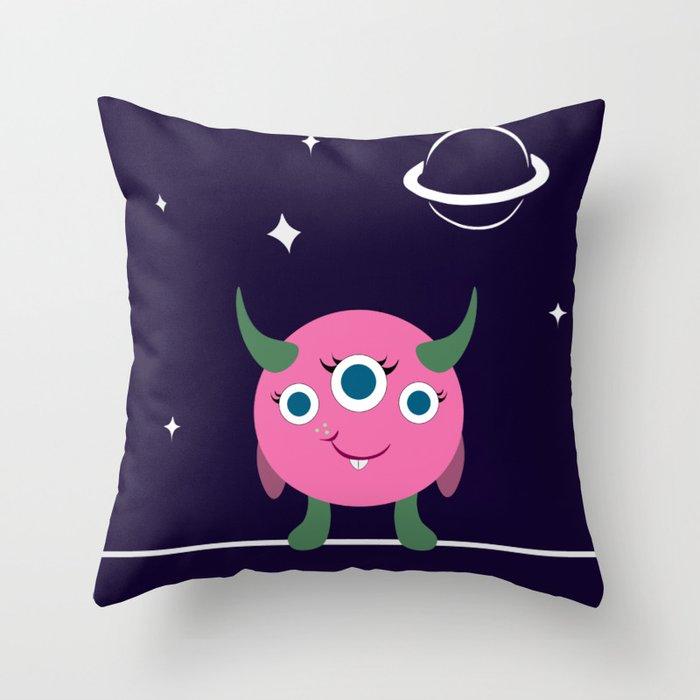 Piper in space Deko-Kissen