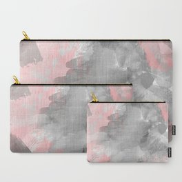 GreyPink Watercolour Carry-All Pouch