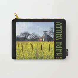 Water Tower & Mustard - Napa Valley III Carry-All Pouch