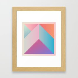 Ultra Geometric Framed Art Print