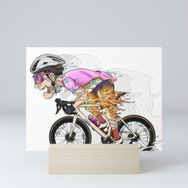 All in for the sake of speed Mini Art Print