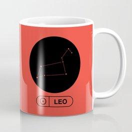 Leo Constellation Coffee Mug